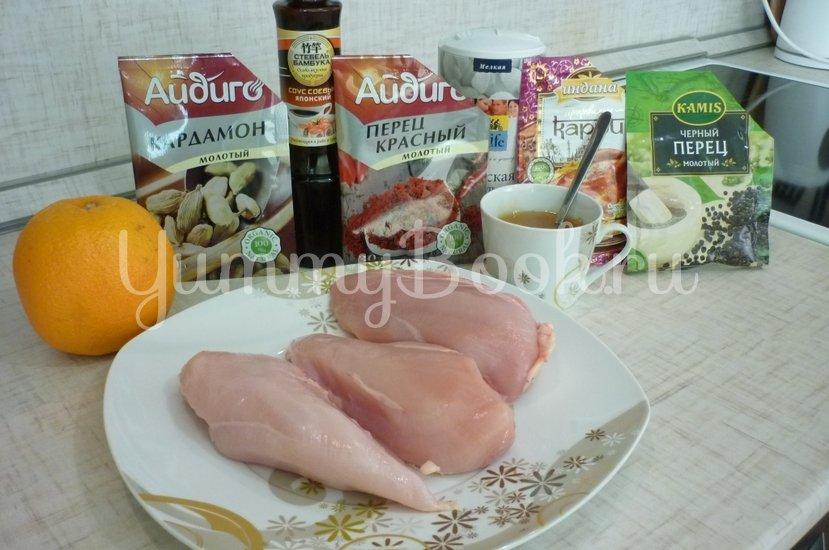 Куриное филе, запечённое в медово-соевом соусе - шаг 1