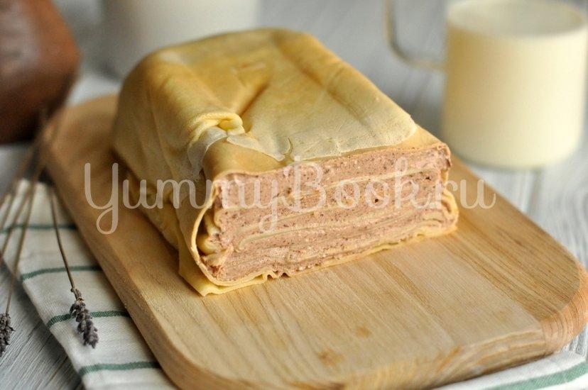 Блинный торт с творожным кремом - шаг 9
