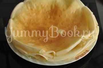 Блинный торт с творожным кремом - шаг 6
