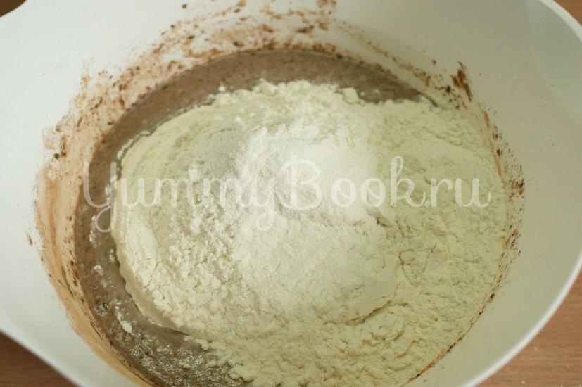 Шоколадный кекс - шаг 2