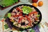 """Лёгкий салат с тунцом """"Искушение"""""""
