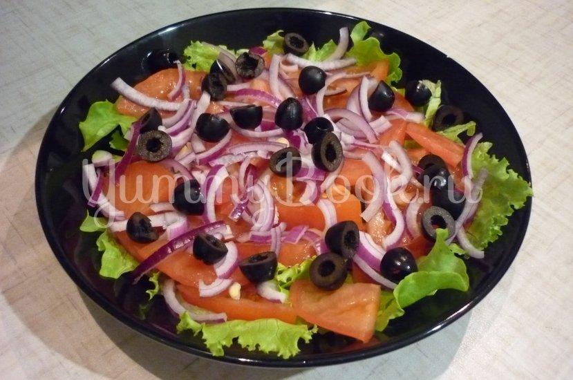 """Лёгкий салат с тунцом """"Искушение"""" - шаг 6"""