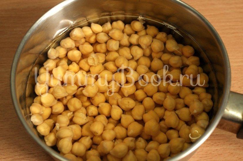 Нут с фасолью и карри - шаг 1