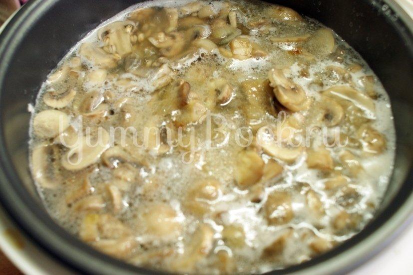 Перловая каша с грибами в мультиварке - шаг 4