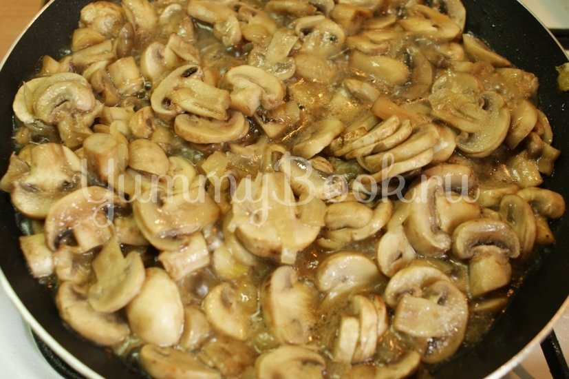 Перловая каша с грибами в мультиварке - шаг 3