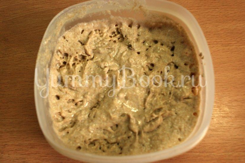 Ржаной хлеб на закваске - шаг 3