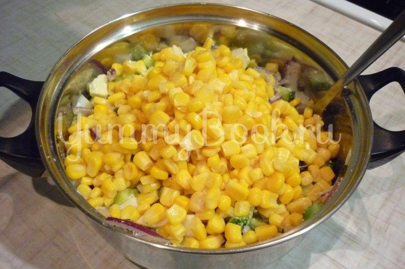 Лёгкий салат с тунцом и овощами - шаг 5