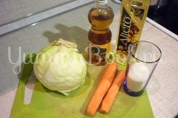 Свежий винегрет без картофеля - шаг 1