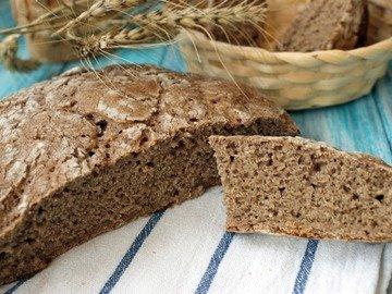Подовый ржаной хлеб