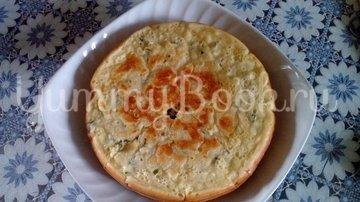 Пирог с зеленым луком и яйцом в мультиварке - шаг 9