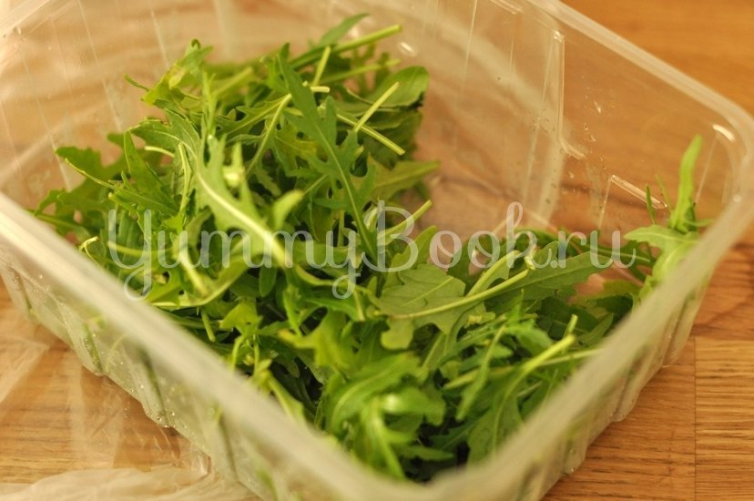 Зеленый салат с сыром - шаг 2