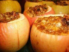 Яблоки печеные с начинкой