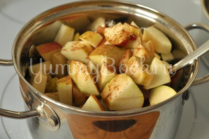Манник с яблоками - шаг 5