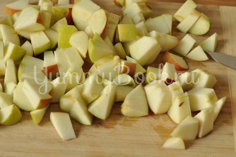 Манник с яблоками - шаг 2