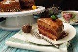 """Муссовый торт """"Вишня с шоколадом"""""""