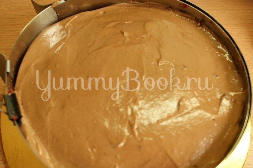 """Муссовый торт """"Вишня с шоколадом"""" - шаг 15"""