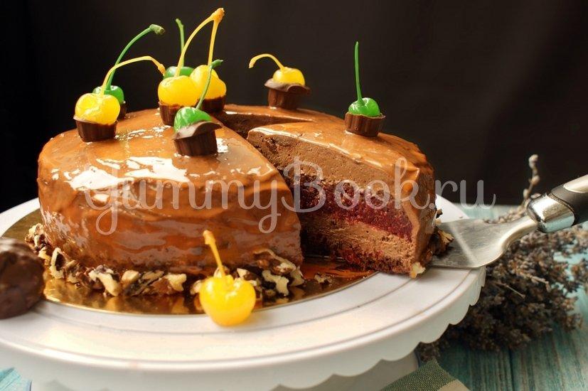 """Муссовый торт """"Вишня с шоколадом"""" - шаг 17"""