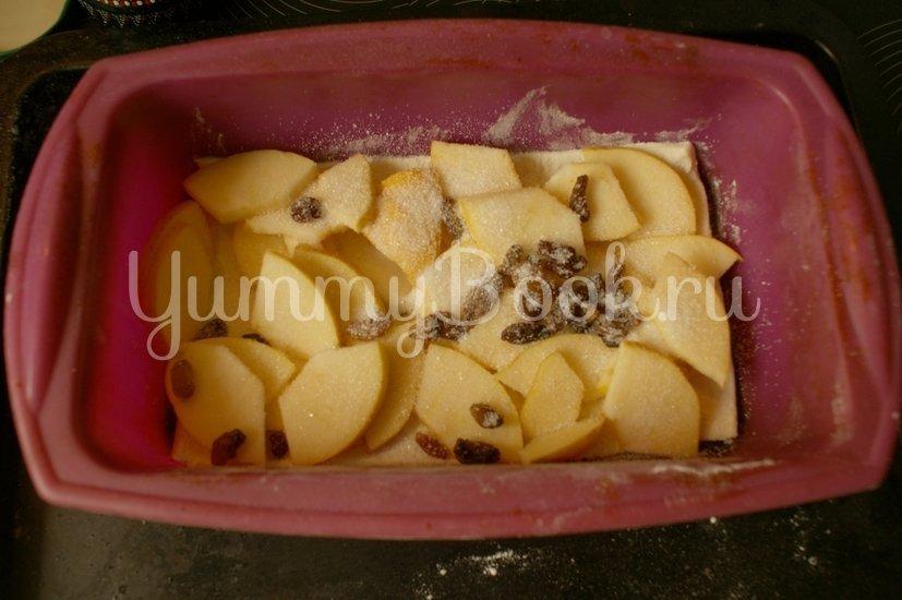 Яблочный пирог из слоёного теста - шаг 4