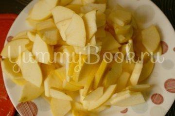 Яблочный пирог из слоёного теста - шаг 1