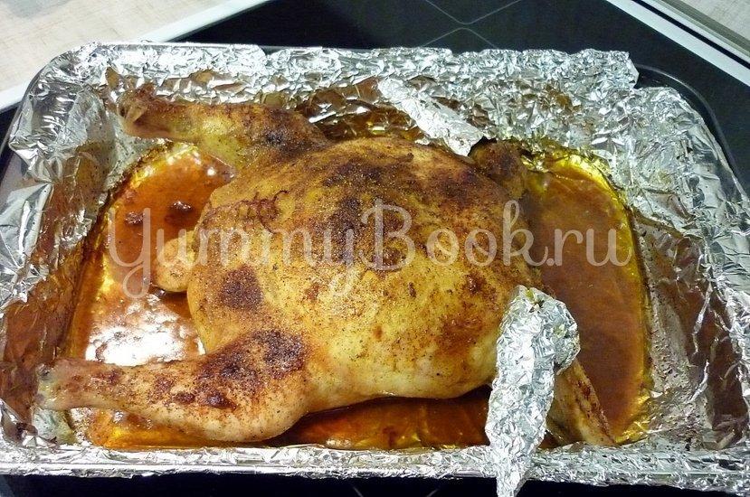 Нежная фаршированная курица без костей - шаг 22