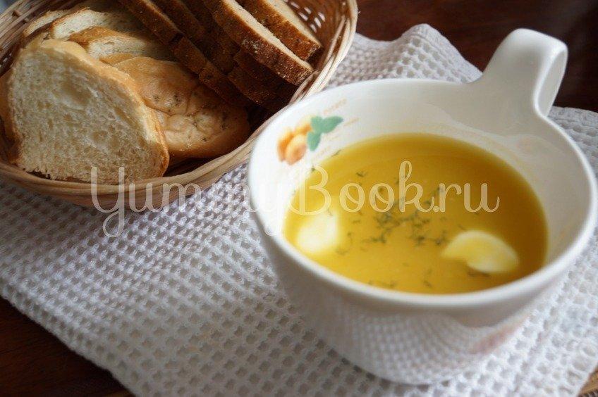 Тыквенно-чечевичный суп-пюре в мультиварке