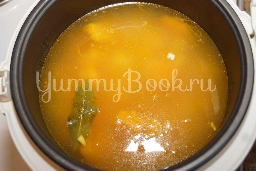 Тыквенно-чечевичный суп-пюре в мультиварке - шаг 3