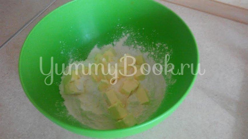 Пирог фруктовый - шаг 1