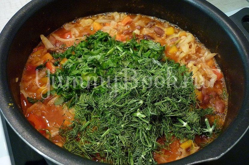 Овощное рагу с фасолью - шаг 18