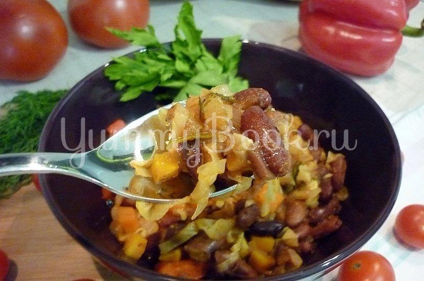Овощное рагу с фасолью - шаг 21