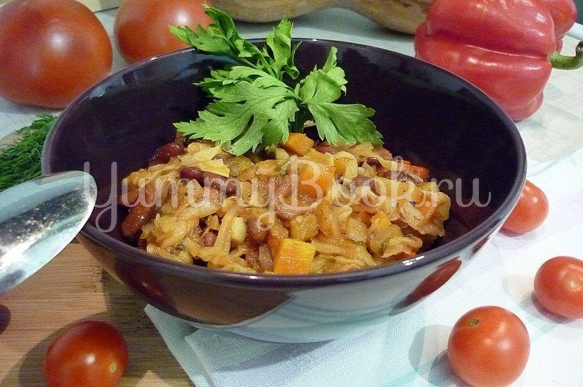Овощное рагу с фасолью - шаг 20