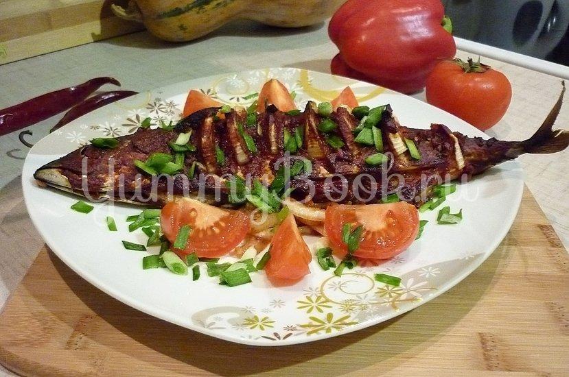 Запечённая скумбрия в томатно-соевом соусе - шаг 10