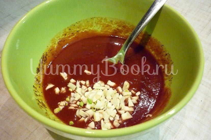 Запечённая скумбрия в томатно-соевом соусе - шаг 7