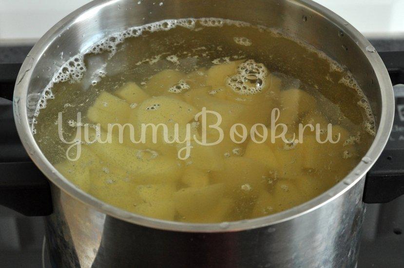 Суп с сушеными грибами - шаг 2