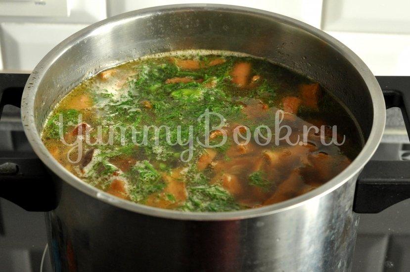 Суп с сушеными грибами - шаг 9