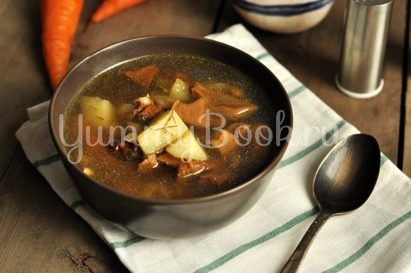 Суп с сушеными грибами - шаг 10