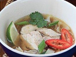 Вьетнамский суп фо с цесаркой