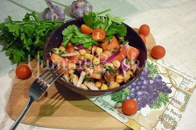 Сытный и полезный салат с нутом - шаг 5