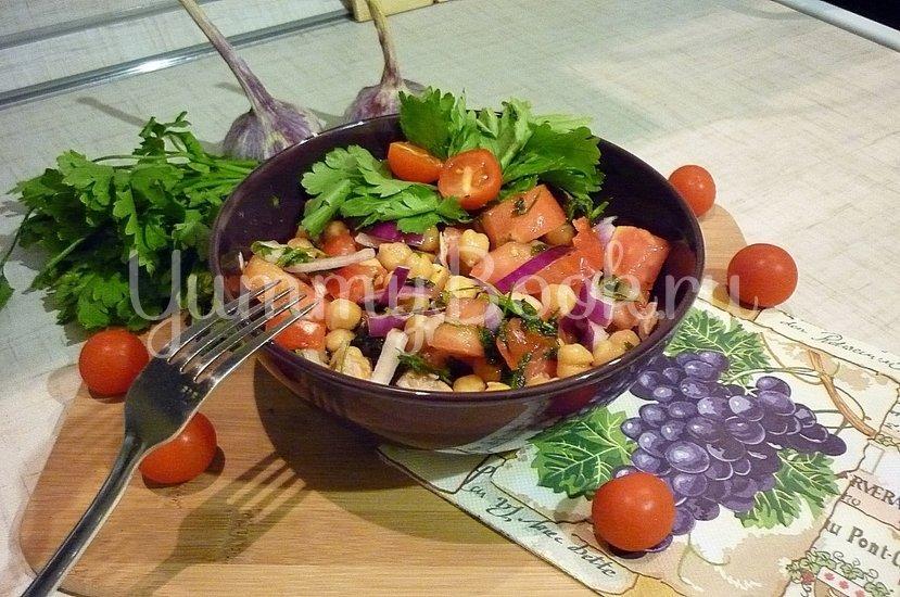 Сытный и полезный салат с нутом - шаг 6