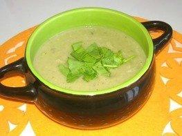 Крем-суп из кабачков и баклажан диетический в мультиварке
