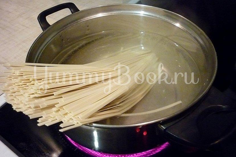 Куриный суп с лапшой, имитирующий японскую кухню - шаг 7