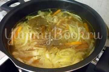 Куриный суп с лапшой, имитирующий японскую кухню - шаг 11