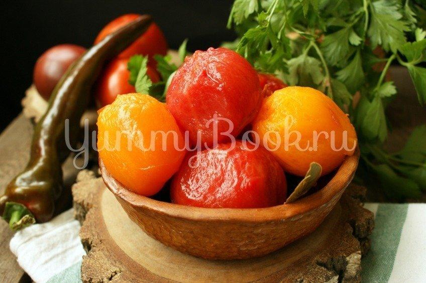Маринованные помидоры без кожуры