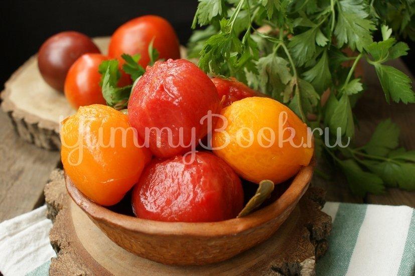 Маринованные помидоры без кожуры - шаг 5