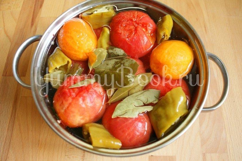 Маринованные помидоры без кожуры - шаг 4