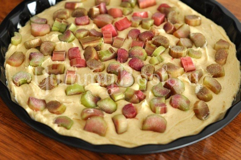 Пирог с ревенем - шаг 5