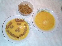Суп тыквенный с ананасом