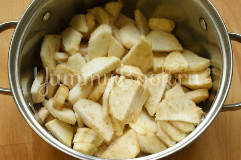Карамелизированные баклажаны с кофейным соусом - шаг 2