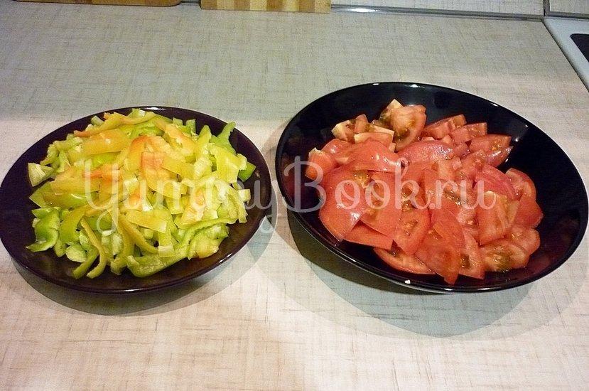 Тушёные кабачки с овощами - шаг 5