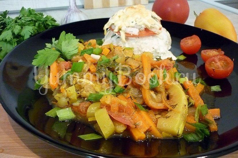 Тушёные кабачки с овощами - шаг 16