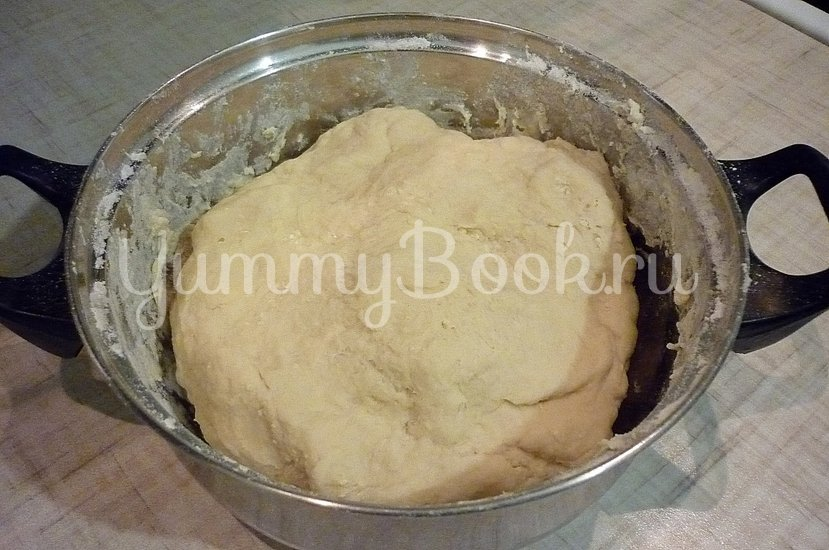 Хрустящие лепёшки с сыром и зелёным луком - шаг 5